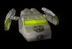 Digitally designed spacecraft - Brandyn Davis
