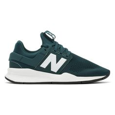 new balance trainers green