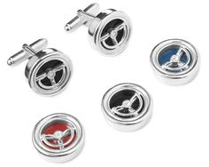 Modeled after the steering wheel of a 1962 T-Bird, these sterling silver cufflinks are sure to get your workwear up to speed. Special Gifts, Great Gifts, Sterling Silver Cufflinks, Rare Birds, Business Attire, Office Gifts, Small Gifts, Boyfriend Gifts, Change