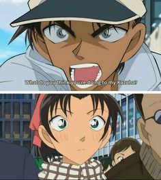 Heiji hatori from detective conan What do u think u're doing to my kazuha?