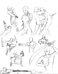 Action poses 1 by *shinsengumi77 on deviantART