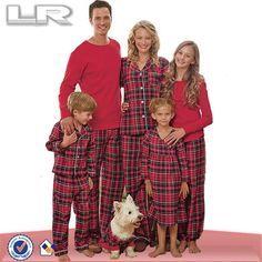 Pijama Navidad para Familia Padre Madre Hijo Hija Pareja Adultos Hombre Mujer Ni/ño Ni/ña Sorry 2020 Pap/á Noel Tops Pantalones de Cuadros Rojos y Negros