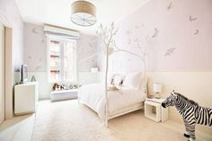 Kid Space - Explore Gwyneth Paltrow's Goop-Worthy Tribeca Penthouse - Photos  Kid Space This lavender room is perfect for any child.