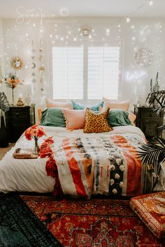 Bohemian Bedroom Decor Ideas - ou have the freedom to pick from a number of colo. - Bohemian Bedroom Decor Ideas – ou have the freedom to pick from a number of colors that would mak - Living Room Furniture, Home Furniture, Bohemian Bedroom Decor, Bohemian Dorm Rooms, Bedroom Inspo, Autumn Decor Bedroom, Boho Bed Room, Turquoise Bedroom Decor, Autumn Room