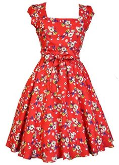 Lady Vintage Swing Dress IN 19 Different Prints Rockabilly Retro Size 8 22 50s Rockabilly, Vintage Style Dresses, Lady V, Flare Skirt, Dress Me Up, Swing Dress, Plus Size Fashion, Beautiful Dresses, Cute Outfits
