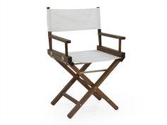 Cadeira Diretor Movie - Nogueira - Meu Móvel de Madeira