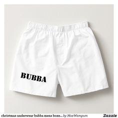 christmas underwear bubba mens boxers