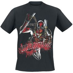Attack - T-Shirt by Deadpool
