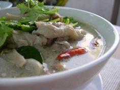 Tom Kha Gai - Thai Coconut Chicken soup. Authentic.