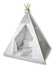Weiteres - Amilian Tipi Spielzelt Zelt Tipidecke Kissen T01 - ein Designerstück von amilianbaby bei DaWanda