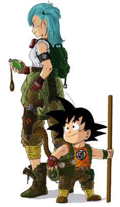 Goku n Bulma