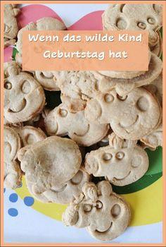 letztes Jahr gab es #Peppa #Wutz Kekse, #Birthday, #Geburtstag, #BAby, #Kleinkind Stuffed Mushrooms, Wilde, Desserts, September, Food, Baby Birthday, Third Child, Peppa Pig, Stuff Mushrooms