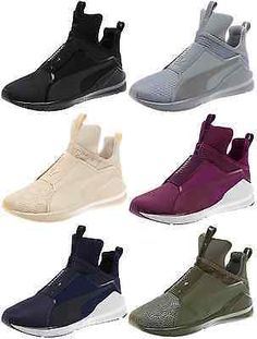 Women s Puma Fierce KYLIE JENNER Kurim and Quilted Sneakers Lifestyle Shoes  Kylie Jenner Shoes 61e7bb3ef