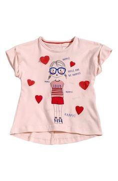 Cool Name it Bluse Git mini Lys rosa Name it Toppe til Børn & teenager til hverdag og til fest