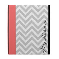 Gray & Coral Modern Chevron Custom Monogram iPad Case you will get best price offer lowest prices or diccount couponeDiscount Deals          	Gray & Coral Modern Chevron Custom Monogram iPad Case Online Secure Check out Quick and Easy...