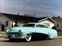 The most famous non-tv/movie custom car in the world, the Hirohata '51 Merc by George Barris