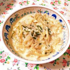 糖質制限☆豆乳スープパスタ