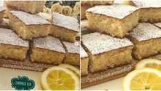 Limonlu Sünger Kek Tarifi Cornbread, Kefir, Food And Drink, Ethnic Recipes, Masks, Millet Bread, Corn Bread