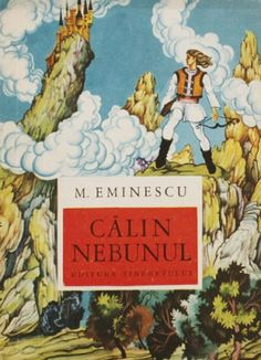 Coperta de carte -Calin nebunul de Mihai Eminescu, Editura Tineretului