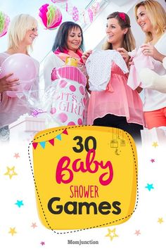 30 Fun And Festive Baby Shower Games You Would Enjoy