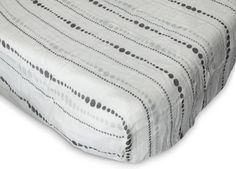 aden + anais Rayon From Bamboo Moonlight Fiber Crib Sheet, Beads (Discontinued by Manufacturer)