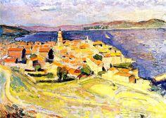 """Henri MATISSE """"Vue sur Saint-Tropez"""""""
