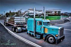 Millions of Semi Trucks Train Truck, Road Train, Peterbilt 379, Peterbilt Trucks, Show Trucks, Big Rig Trucks, Dually Trucks, Diesel Trucks, Custom Big Rigs
