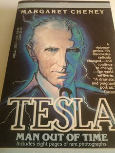 Nikola Tesla Vintage Biography.  I've read this countless times!!