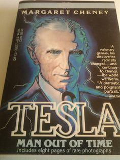 Nikola Tesla Vintage Biography.  I've read this countless times!!