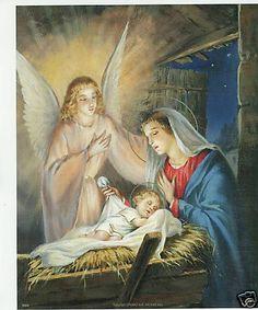 catholic print picture christmas nativity jesus mary