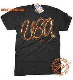 USA Sparkler T shirt