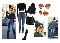 """""""Perrie street style!"""" by claudiasprayberry ❤ liked on Polyvore featuring River Island, Topshop, Burberry and ASOS"""