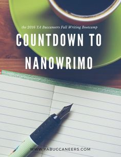 Join our 2016 Fall Writing Bootcamp and Countdown to NaNoWriMo with us!