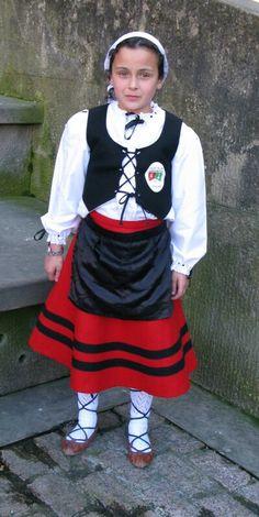 Basque girl