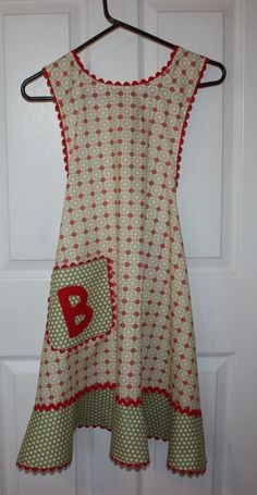 Retro Apron, and I think  the B is for Baba!