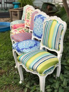 Dining Chairs - Confused About Furniture? Top Tips On Furniture Buying And Care. Funky Furniture, Repurposed Furniture, Rustic Furniture, Home Furniture, Painted Furniture, Furniture Design, Furniture Ideas, Furniture Buyers, Furniture Websites