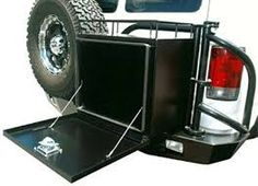 Image result for pinterest ideas for storage holders for 4x4 off road camping