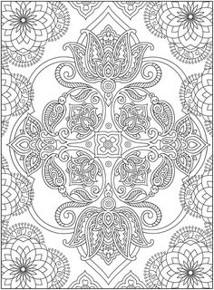 Creative Haven Mehndi Design:Dover Publications Samples