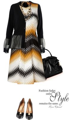 """Dress by MISSONI"" by fashionmonkey1 ❤ liked on Polyvore"