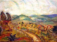 O Caminho da Vida , de Anita Malfati, está entre as obras expostas (Divulgação)