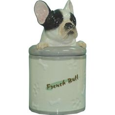 Ben de Lisi White dog soap dispenser at