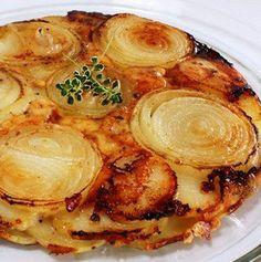 Potato & Onion Tart
