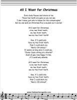 All I Want For Christmas Is You Lyrics To Print.41 Best Children S Songs Images Songs Kids Songs Songs