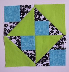 Sew Fresh Quilts: Happy Go Lucky Block Tutorial...great tutorial with all the pix needed. she makes it look so easy. :)