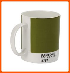 Whitbread Wilkinson Pantone Bone China Mug, Olive Green - Improve your home (*Amazon Partner-Link)