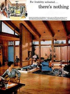 National Lumber Manufacturers Association ad (1 of 4) - 1959 by MidCentArc, via Flickr