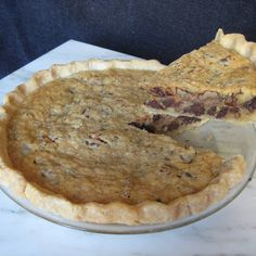 Chocolate Chip Cookie Pie (vegan)  vegan, plantbased, Earth Balance, Made Just Right