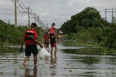 Enchente em Porto Velho, Rondônia na Amazônia. Foto: Odair Leal/Phame -  © 2014 Odair Leal. TODOS OS DIREITOS RESERVADOS.