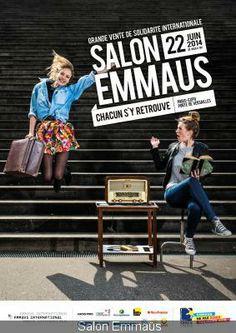 Le Salon Emmaüs 2014, Porte de Versailles