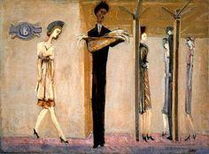 Mark Rothko, Underground Fantasy, 1940